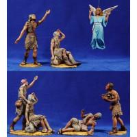 Anunciata 7 piezas 18 cm resina Daniel-Serena