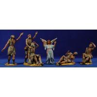Anunciata 6 piezas 18 cm resina Daniel-Serena