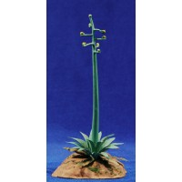 Pita flor 14 cm metal