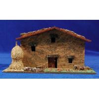 House Hebrew model 1 17x8x9 cm corck Plana