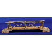 Puente plano 27 cm madera