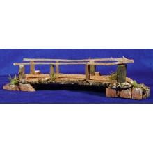 Puente plano 44 cm madera