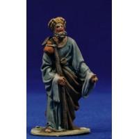 Pastor mirando m1 8 cm barro pintado De Francesco