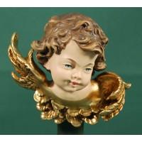Busto de ángel colgar izquierda 10 cm resina