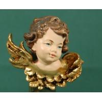 Busto de ángel colgar izquierda 7 cm resina