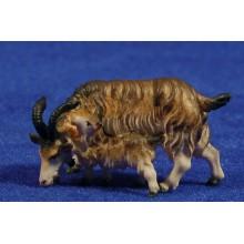 Cabra con cabrito 10 cm madera
