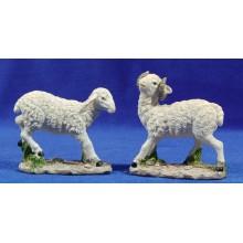 Grupo dos corderos 20 cm resina