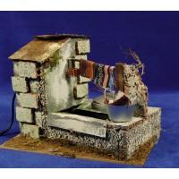 Lavandero 20x15x15  cm corcho