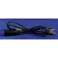 Cable para bombilla E14 1,5mts plástico