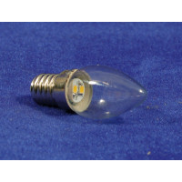 Bombilla led blanca 6 cm cristal