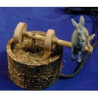 Piedra de molino con asno movimiento 6 cm corcho