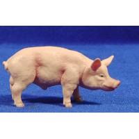 Cerdo 11 cm plástico