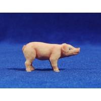 Cerdo cria 11 cm plástico