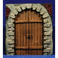 Puerta redonda 15 cm resina