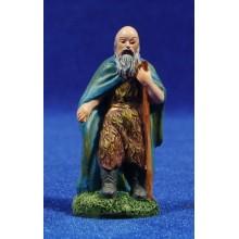 Pastor con bastón 6 cm resina