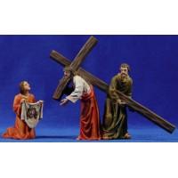Camino de la cruz - Verònica 13 cm resina