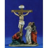Crucificción M2 9 cm resina