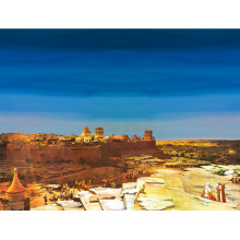 Fondo Jerusalen derecha 100x70 cm papel