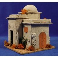 Casa hebrea cúpula 16x16x18 cm corcho
