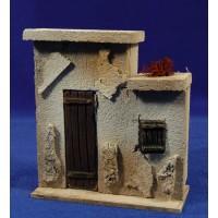 Frontal casa puerta izquierdas prèt-à-porter Figuras 10 cm corcho