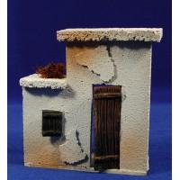 Frontal casa puerta derecha prèt-à-porter Figuras 10 cm corcho
