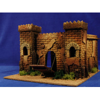 Castillo en movimiento 8 cm corcho