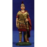 Soldado romano con capa 9 cm resina Linea Martino Landi
