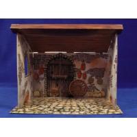 Portal para montar 27x19x22 cm cartón
