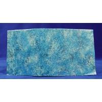 Tipo papel de roca diseño agua clara 35x35 cm aluminio pintado