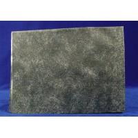 Tipo papel de roca diseño roca gris 70x50 cm aluminio pintado