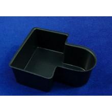 Zafata de rio 9x8x3,5 cm plástico