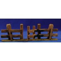 Vallado con puerta 20x6 cm madera