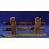 Vallado 14x6 cm madera