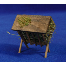 Comedero M2 7 cm madera