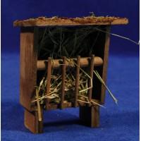 Comedero 10 cm madera