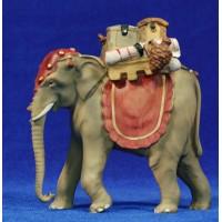 Elefante m2 8 cm resina