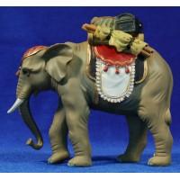 Elefante 9 cm resina