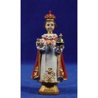 Niño Jesús de Praga 11 cm resina