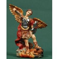 Ángel San Miguel 13 cm resina