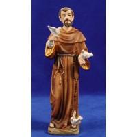 Sant Francisco de Assís 22 cm resina