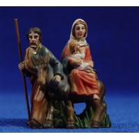 Huida a Egipto 5,5 cm resina