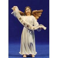 Ángel colgar-de pie blanco 11 cm resina