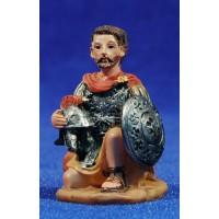 Soldado romano arrodillado 7 cm resina