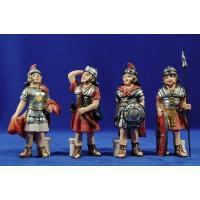 Soldados romanos 10 cm resina