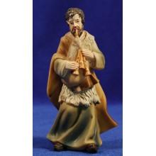 Pastor con gaita 15 cm resina