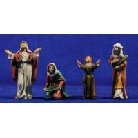 Pastores entrada a Jerusalem 9 cm resina