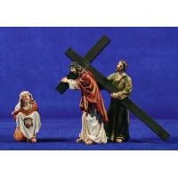 Camino de la cruz - Verònica 9 cm resina