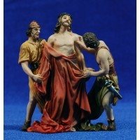 Jesús sin vestiduras 9 cm resina
