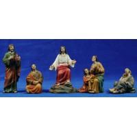 El sermón de la montaña 9 cm resina