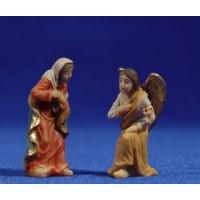 Anunciación a Maria 5 cm resina